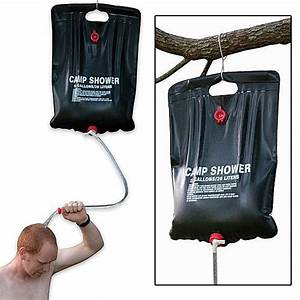 Portable Water Container - Solar Camping Shower - 5