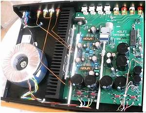 Holfi Integra 88 Se Amplifier  English