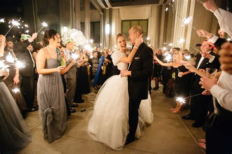 ideas for guests to do during your wedding grand exit inside weddings