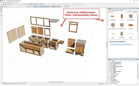 cabinet design software custom cabinets in pro100 customcabinetsoftware