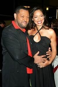 Laurence Fishburne & wife, Gina Torres | Love On Lock ...