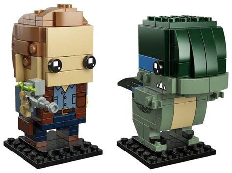 LEGO BrickHeadz 41614 Jurassic World Owen & Blue - HelloBricks