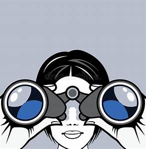 Binoculars Vector Stock Vector  Illustration Of