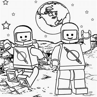 Space Shuttle Coloring Pages Lego Ship Rocket