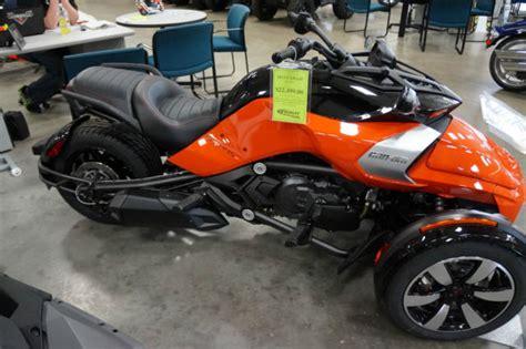 New 2015 Can-am Spyder F3-s Se6 Motorcycle Trike Street