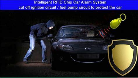 Car Security Alarm System Rfid Immobilizer Engine Ignition