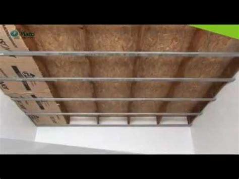 plant de cuisine pose placo faire un faux plafond avec placo baticotravaux