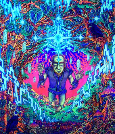 amazing psychedelic blacklight posters