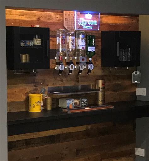 Under Cabinet Strip Lighting Ikea by Man Cave Bar Ikea Hackers Ikea Hackers