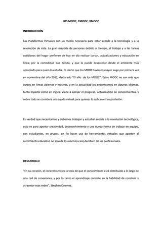 ejemplo de ensayo mooc by soryzambrano2000 issuu