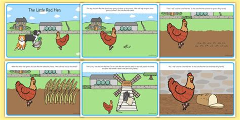 Little Red Hen, Traditional Tales, Tale