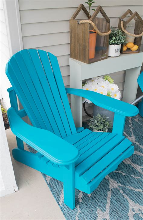Front Porch Decorating Ideas With The Perfect Adirondack