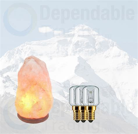 himalayan salt l light bulb 3 x 15w himalayan rock salt replacement bulbs for ls