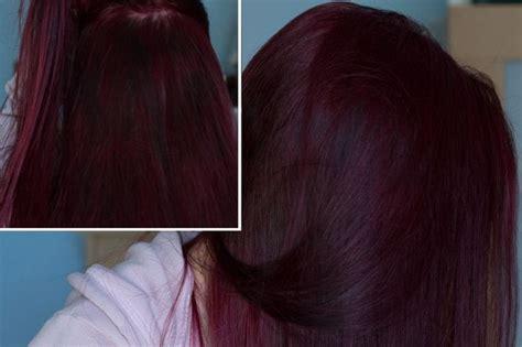 Loreal Hi Color Magenta Hair Dye Dark Hair Red Without