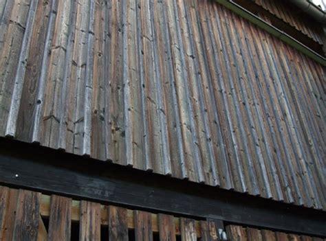 Reintechnischde Holzaussen