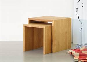 Cube Bois Rangement : cube de rangement empiler en bois de ch ne chez ksl living ~ Edinachiropracticcenter.com Idées de Décoration