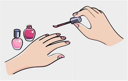 Nails Clipart Nail Painting Paint Hands Polish