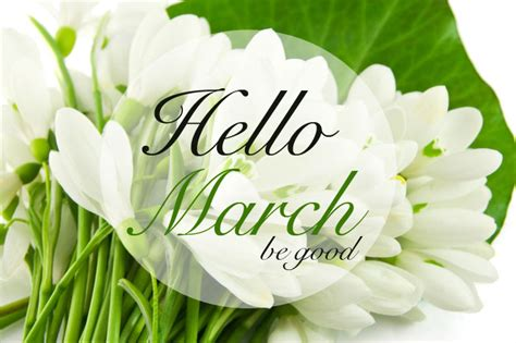 Hello March Images And Quotes