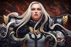 Diablo 3: Крестоносец (Crusader) - Рисунки (Art-work)