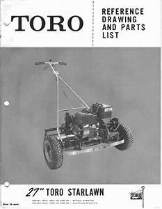 Toro Star Lawn 27 Reel Mower Parts Manual