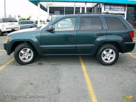 blue green jeep 2005 jeep grand cherokee laredo 4x4 in deep beryl green