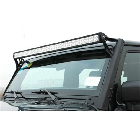 jeep jk wrangler 50 quot 52 quot led light bar windshield roof