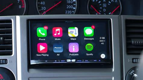 apple carplay  pioneer  test  caradvice