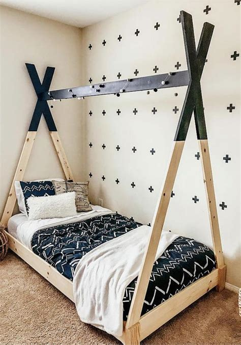 diy kid beds    making