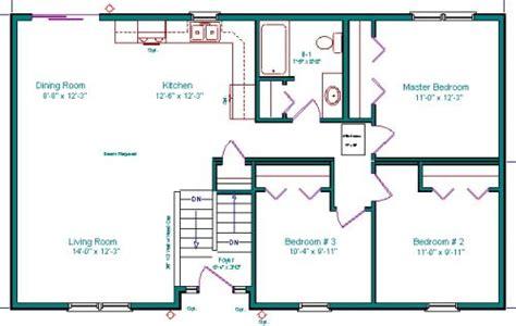 Split Foyer Floor Plans by Split Entry Split Foyer Bi Level Raised Rambler Raised