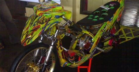 Modif Mio Soul Racing Look by The Best Mio Racing Look Modification Contest