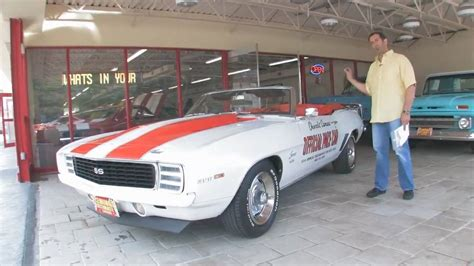 chevrolet camaro rs ss  indy pace car convertible