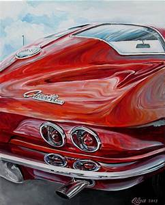 Corvette Paintings Search Result At Paintingvalley Com