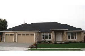 Photo Of Small Prairie Style House Plans Ideas by Prairie Style House Plans Creekstone 30 708 Associated