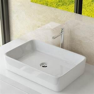 Waschbecken Auf Tisch : design keramik aufsatzwaschbecken tisch handwaschbecken ~ Michelbontemps.com Haus und Dekorationen