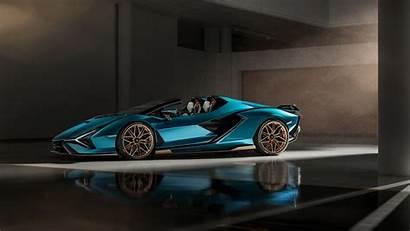 Lamborghini 5k Roadster Wallpapers Sian 4k 1080