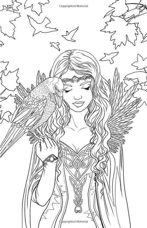 gothic fairy coloring pages fairy coloring pages fairy coloring coloring books