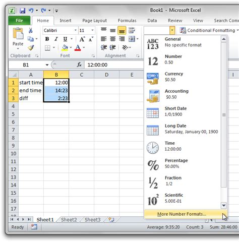 Ceiling Function Excel 2007 by How To Calculate Negative Time Difference In Excel 2007