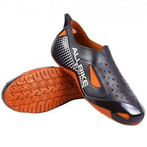Sepatu Ap Boots Ultimate Orange jual sepatu motor biker all bike orange karet allbike