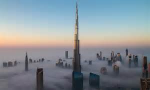 Dubai World Tallest Building in the Clouds