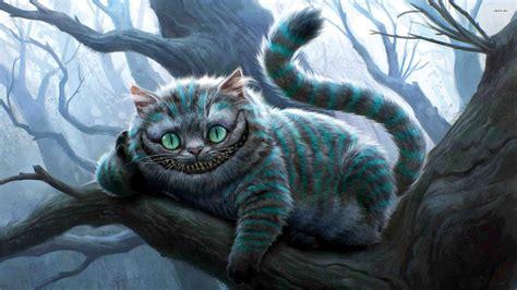 alice  wonderland cheshire cat wallpaper gallery