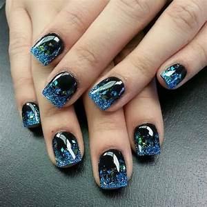 How To Do Blue Acrylic Nails - Nail Art Ideas