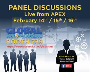 Facebook Live Panel Discussions from IPC APEX – San Diego ...