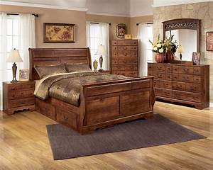 Signature design by ashley timberline queen bedroom group for Ashley furniture 5 pc bedroom sets