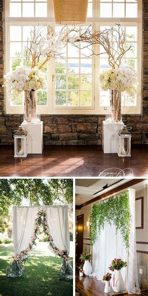 25 Best Ideas About Wedding Backdrops On Pinterest