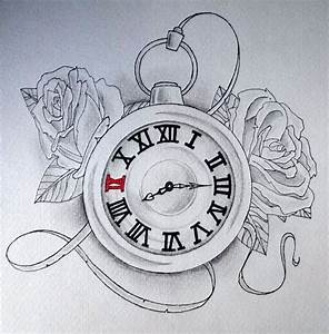 clock drawing - Google Search | Pocket watches hourglass ...