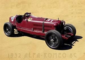 Alfa Romeo Prix : 1932 alfa romeo 8c formula 1 grand prix vintage classic race car photo ca 0423 ebay ~ Gottalentnigeria.com Avis de Voitures