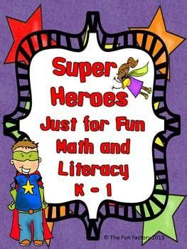 super heroes   fun math  literacy  images