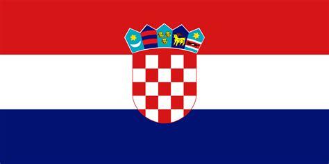 coloriage drapeau croatie  imprimer