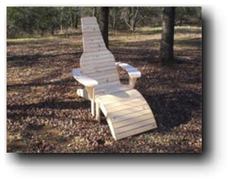 bottle chair woodworking plans