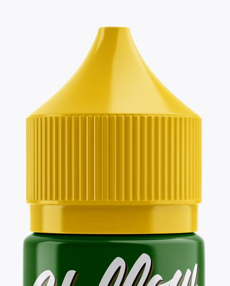 Download this free medical dropper to render your designs onto. Glossy Dropper Bottle Mockup in Bottle Mockups on Yellow ...
